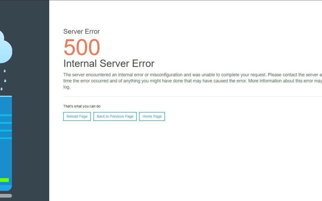 Error 500 en todos los sitios web alojados en Ubuntu con Apache2 [Solución]